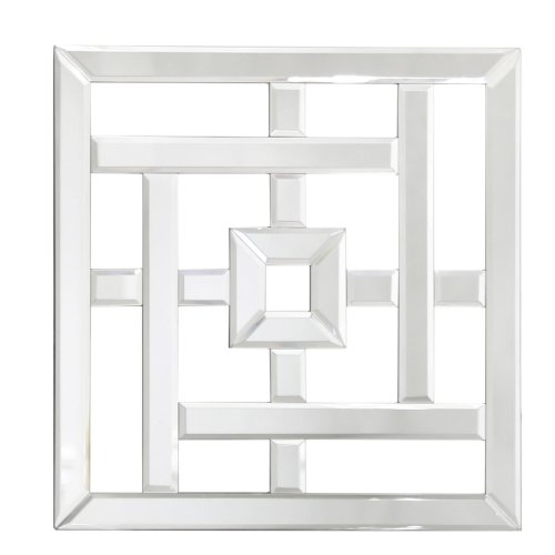 40cm Geo Mirror Wall Art