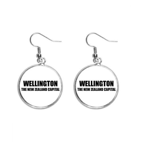 Wellington The New Zealand Capital Ear Dangle Silver Drop Earring Jewelry Woman