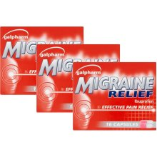 Galpharm Migraine Relief 48 Capsules