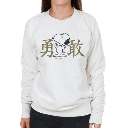 Peanuts Snoopy Fearless Women's Sweatshirt