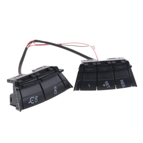 (As Seen on Image) Car Speed Control Switch, Cruise Control System Kit for Ford/Focus /st 2 2005-2007 2008 2009 2010 2011 Steering Wheel