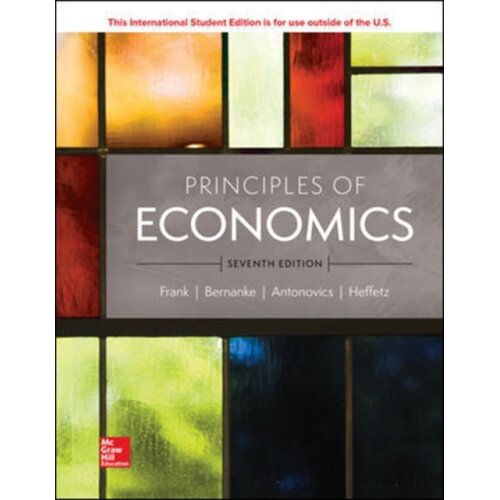 ISE Principles of Economics by Frank & RobertBernanke & BenAntonovics & KateHeffetz & Ori - Used