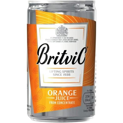 Britvic Orange Juice 24 x 150ml