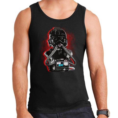 Original Stormtrooper Imperial TIE Pilot Red Burst Men's Vest