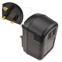 kenable Step Down Mains AC Voltage Converter 230V to 110V  45VA 45W US To UK Plug