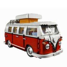 Volkswagen T1 Camper Car Model Technic Series 1354pcs Building Blocks withoutbox