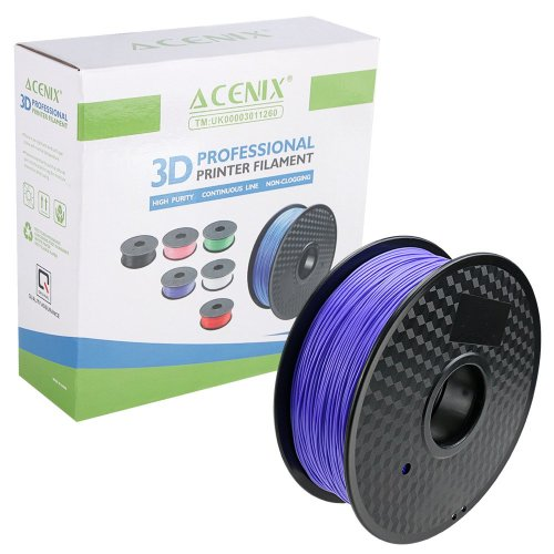 ACENIX® Purple PLA 3D Printer Filament 1.75mm 1KG Spool 2.2 LBS