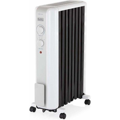BLACK+DECKER BXRA43002GB Oil Filled Radiator Heat Circulation, 2000W