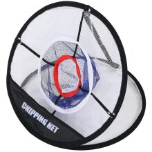 Angwis Golf Chipping Net, Golf Practice Net for Garden Indoor Outdoor, Golf Gifts for Men, Collapsible & Portable