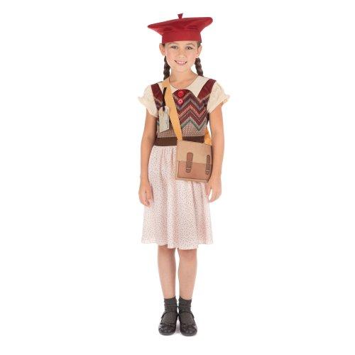 Evacuee Girl Costume ~ Large