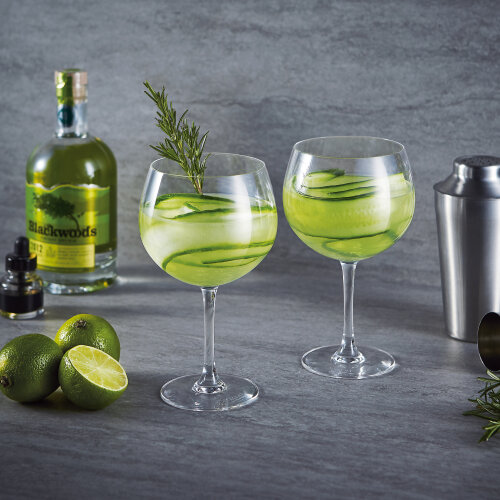 Ladies Night Glasses| Clear Gin Glasses