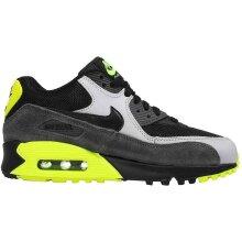 Nike Air Max 90 Mesh (GS) Black Wolf Grey Dark Grey