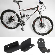 3x Bike Bicycle Cycling Pedal Tire Wall Mount  Hanger Stand Rack