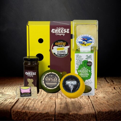 The Chuckling Cheese Co. Classic Cheeseboard Selection Gift Box