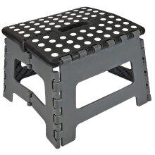 Folding Step Stool MEDIUM GREY/BLACK | AS-14955 | AS-20723