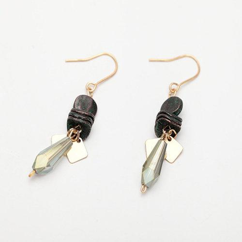 Handmade Earrings Vintage Water Drop Pendant Dangle Earrings