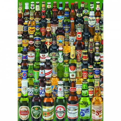 Jigsaw Puzzle - 1000 Pieces - Cans of Beer