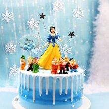 8pcs/Set Snow White and the Seven Dwarfs Figures Toys