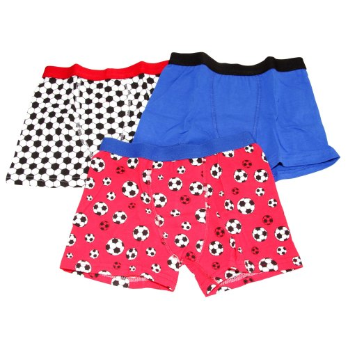 Kids By Tom Franks Boys Football Trunks (Pack Of 3)