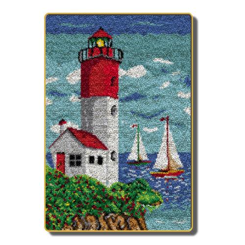 """Latch Hook Kit""""Lighthouse""""110x70cm"""