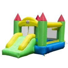 HOMCOM Bounce House Inflatable Bouncer Kids Jumper Jump Bouncy Castle