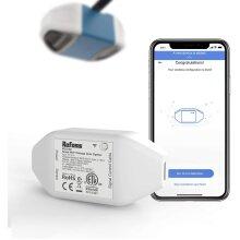 Refoss Smart Wi-Fi Garage Door Opener, APP Control, Compatible with Alexa, Google Assistant, No Hub Needed, White