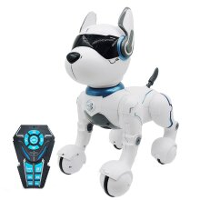 Electronic Animal Pets RC Robot Dog Voice Remote Control Toys Music Song Toy RC Toys|RC Animals