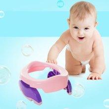 Kids Potty Training Portable Foldable Toddler Toilet Safe Seat