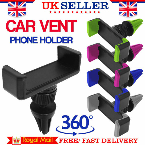 Universal Moible Phone Holder Air Vent Car Mount Cradle Stand Holder for iPhone and Android Mobile Phones