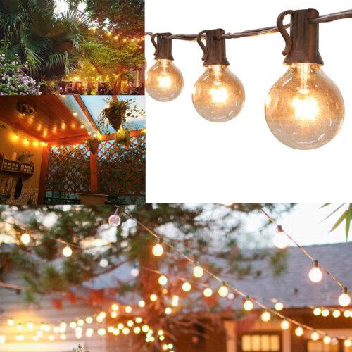 50ft Globe Festoon String Lights