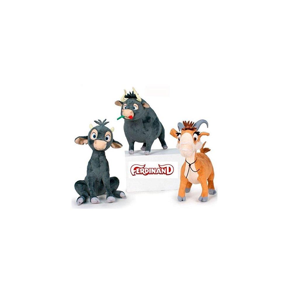 "Bull plush Ferdinand adult calf 6/""//16cm Quality super soft Ferdinand"