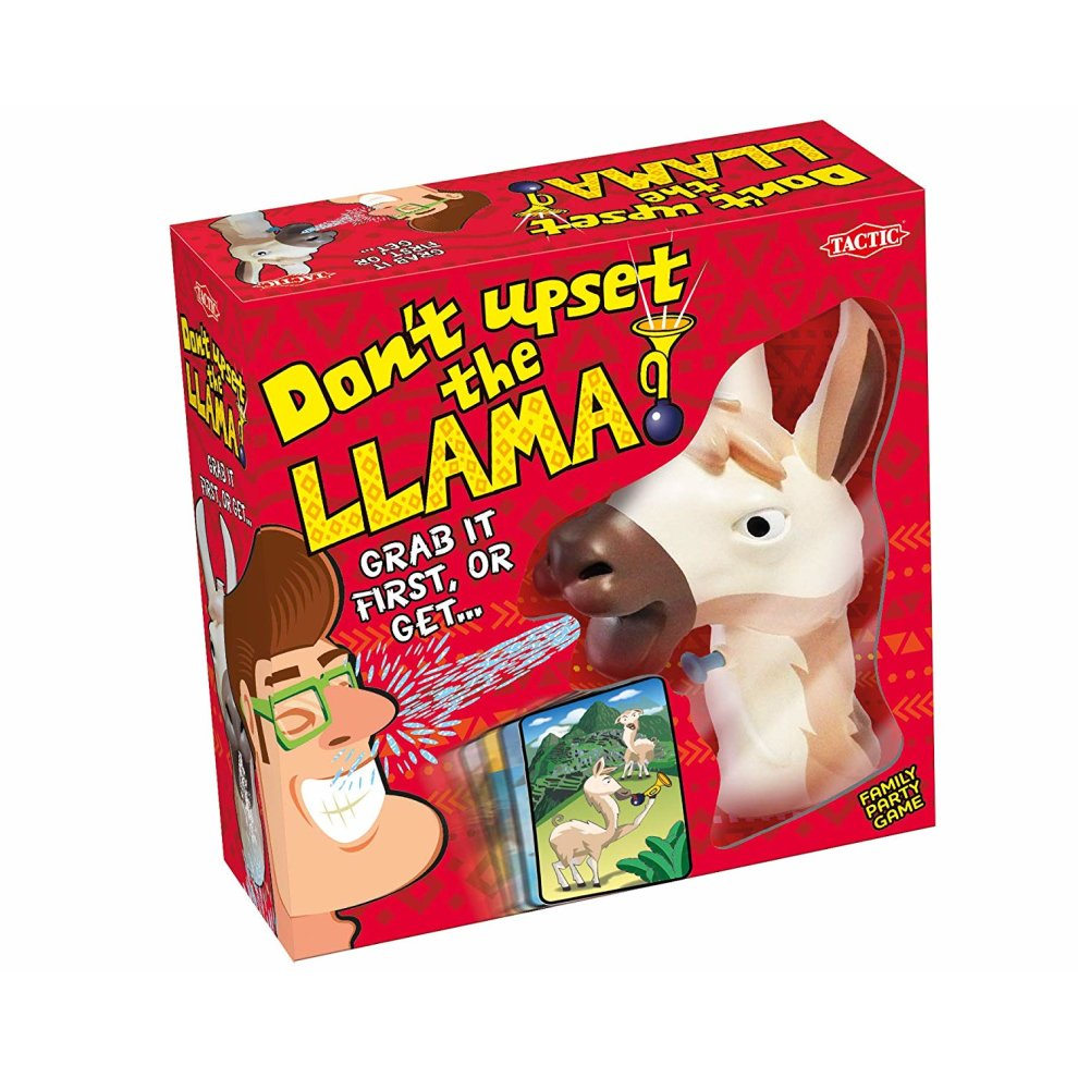 Don`t Upset The Llama Game | Family Spotting Game