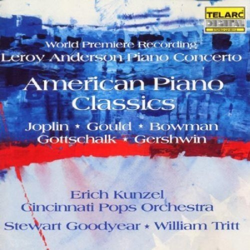 Cincinnati Pops Orchestra and Erich Kunzel - American Piano Works [CD]