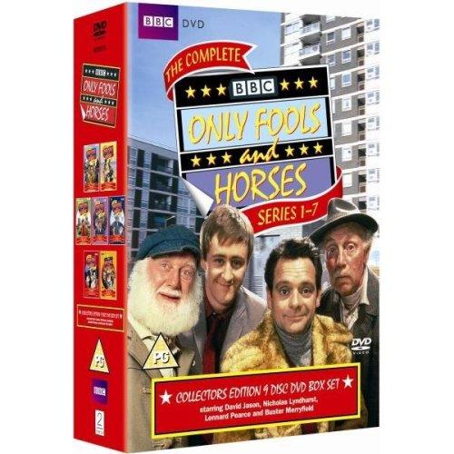 BBC Only Fools And Horses Series 1-7 Complete Collection DVD 2010