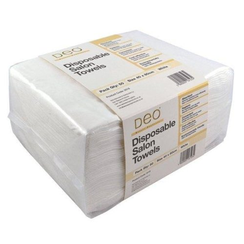 Disposable Salon Towels - 2 x Pack of 50