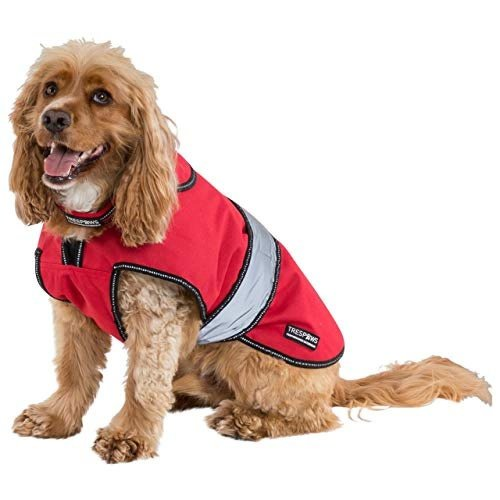 Trespass Duke Weatherproof Dog Jacket With Removable Inner Fleece