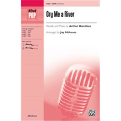 Alfred 00-41825 CRY ME A RIVER-STRX CD