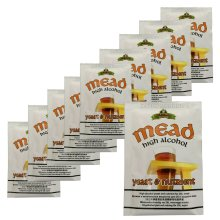 10x Bulldog Mead Yeast & Nutrient High Alcohol 28g for 20-25L