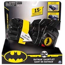 BATMAN 6055411-1 Interactive Gauntlet with Over 15 Phrases and Sounds, for Kids Aged 4 and Up, Black