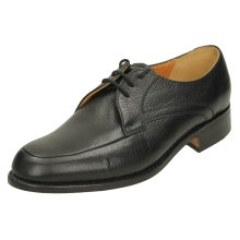 Mens Barker Formal Shoes Sheridan - Black Leather - UK Size 7H - EU Size 41 - US Size 8