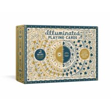 Illuminated Playing Card Set Two Decks with Game Rules by Keegan & Caitlin