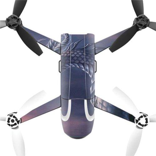 MightySkins PABEBOP2-Dragon Fantasy Skin Decal Wrap for Parrot Bebop 2 Quadcopter Drone - Dragon Fantasy
