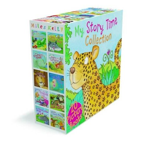 Miles Kelly My Story Time Collection 20 Books Box Set