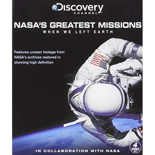 When We Left Earth: The NASA Missions 4 DVD Set New