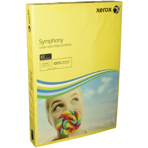 Xerox Symphony 160 g//m/² A4 250 Sheets Yellow