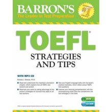 TOEFL Strategies and Tips with MP3 CDs  Outsmart the TOEFL iBT by Pamela J Sharpe