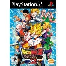 Dragonball Z: Budokai Tenkaichi - Dragonball Z Budokai Tenkaichi 2 (PS2) - Used