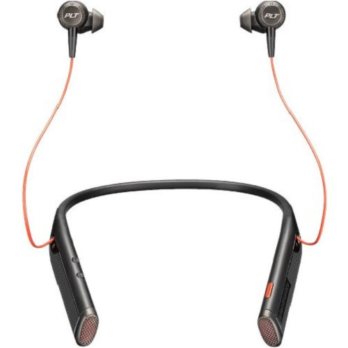 Plantronics® Voyager 6200 UC, Binaural, Neckband Headset -BLACK