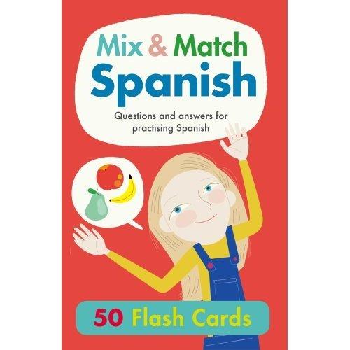 Mix & Match Spanish Flash Cards