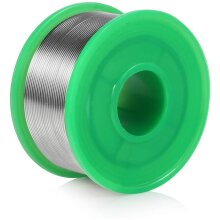 LYLIN 0.8 mm Lead Free Solder Wire, Sn 99.3 Cu 0.7 Tin Reel with Rosin Core for Electrical Soldering and DIY (100g)